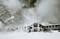 Tengboche Buddhist Monastery in the Himalaya, Nepal