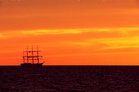boat, landscape, nature, outdoors, outside, sailing ship, scenery