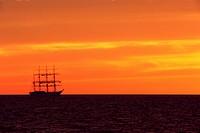 boat, landscape, nature, outdoors, outside, sailing ship, scenery