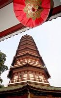 six banyan pagoda or flowery guangzhou guangdong