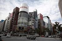 japan ginza tokyo asia se horizontal painet asia