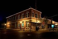 west corner downtown texas lavaca county rural