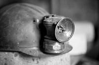 Coal miner´s helmet