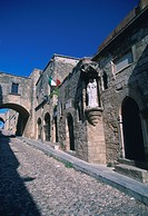 Greece, Rhodes, Street of the Knights, World Heritage Site