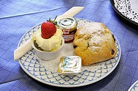 English afternoon cream tea
