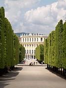 -Shönbrunn Palace in Wien- Austria.