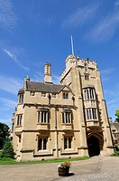 St Swithun's Tower and Building at Magdalen College, Oxford, England, UK