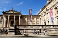The Ashmolean Museum, Oxford, England UK