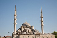 New Mosque, also known as Eminonu Yeni Camii, Eminonu, Istanbul, Turkey