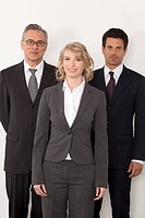 Three confident businesspeople, Bavaria, Germany