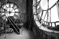 Clock repair on Bromo Seltzer arts tower in Baltimore MD