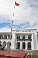 Dili (East Timor): the Palacio do Governo (Government Palace)