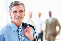 Portrait of a happy professional business man