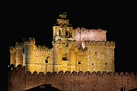 Castle of Turegano (15th-16th Centuries). Segovia province. Castilla y Leon. Spain