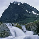 A mountain stream, Kebnekaise, Lapland, Sweden.