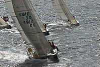 Yacht race, Bohuslan, Sweden.
