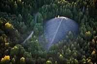 Slag heao in a forest, Vastmanland, Sweden.