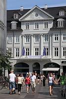 Denmark, Jutland, Arhus, street scene, people,