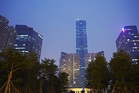 Citic Plaza, Tianhe, Guangzhou, Guangdong Province, China