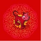 Chinese new year symbol of snake