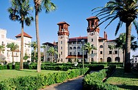 Lightner Museum, originally Hotel Alcazar, in USA oldest city of St  Augustine, Florida  Houses American Victorian antiquities