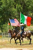 a charreada the original rodeo of Mexico