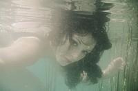 Mystic underwater portrait