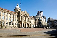 The council offices in Victoria Square, Birmingham, West Midlands