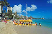 Waikiki Beach, Hawaii Islands, USA