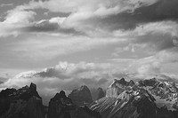 Photograph of the mountains of Torres Del Paine in Patagonia Chile