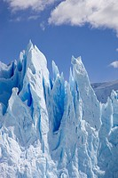 Photograph of the Glaciers of Perito Moreno in Patagonia Argentina