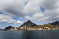 Photograph of the landscape of the Lofoten Islands in Norway
