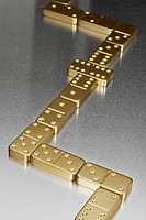 Gold dominoes