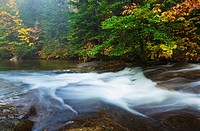 The Basin in Franconia Notch State Park