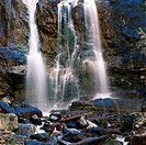 Waterfall, Tangle Falls, Jasper National Park, Alberta, Canada