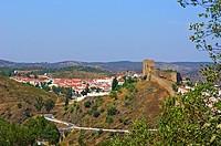 Mertola Castle, Baixo Alentejo, Portugal, Europe.