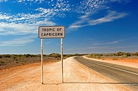 Crossing the Tropic of Capricorn