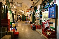 Shops in the Medina, Old Town, Tripoli, Libya, Africa