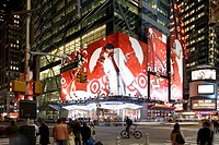 Times Square, Broadway, 42nd Street, Downtown Manhattan, New York City, New York, North America, USA