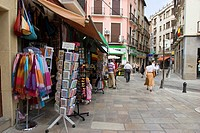 SOUVENIRS IN GRANADA, ANDALUCIA, SPAIN