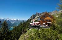 Erfurter hut, Rofangebirge, Tyrol, Austria, Europe