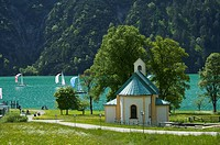 Church, Achenkirch at Achensee, Tyrol, Austria, Europe