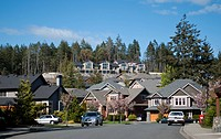 residentila neighbourhood, Western Communities, Colwood, Victoria, British Columbia, Canada