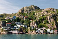 The Battery, St. John´s Harbour, Newfoundland and Labrador, Canada.