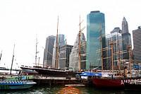USA, New York, architecture, Pier 17,