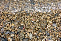 gravel at the beach
