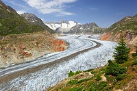 Aletsch Glacier, Swiss Alps, Switzerland