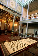 Central Asia, Uzbekistan,Tashkent,capital of Uzbekistan, Telyashayakh mosque,library with the most ancient Osnam Koran in the world VIIth