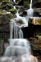 Waterfall at Talybont in the Brecon Beacons national park, Wales