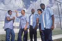 Inmates from Dade County Men's Correctional Facility, Florida